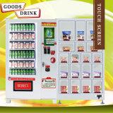 Торговые автоматы питья экрана касания для сбывания