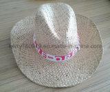 Australia Surf paja Sombrero de los hombres / para hombre de vaquero sombrero de paja (DH-LH9129)