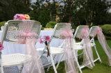 Fabrik-direktes Zubehör, das faltbaren Plastikstuhl Wedding ist