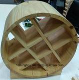 Шкаф вина чувствительного бочонка открытого конца французской конструкции деревянный