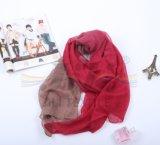 Nouveauté à la mode DIP Dye Gradient Color Hijab Scarf
