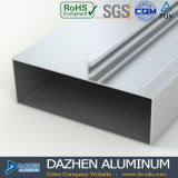 6063 T5 het Profiel van het Aluminium voor de Molen van de Gordijnstof van het Venster van Tanzania eindigt