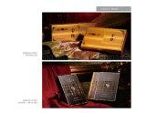La cigarette de luxe faite sur commande enferme dans une boîte les caisses d'emballage cosmétiques de parfum