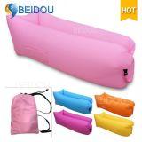 Ein-Mund aufblasbarer Luft-Sofa-Bett-Stuhl-fauler Schlafenbohnen-Beutel
