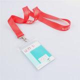 Retractable талреп держателя вьюрка значка карточки ясности Name/ID изготовленный на заказ с удостоверением личности (NLC018)