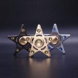 Fileur Cinq-Aigu de personne remuante de mn du fileur 3-4 de doigt en métal de fileur de main de forme d'étoile