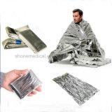 金または銀の救急処置の緊急時毛布