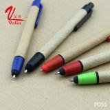 Bolígrafo barato del papel de la aguja de los items de la pluma del papel de la oficina