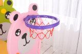 2017 estilo del oso encantador de los niños Plasti diapositivas y columpios (HBS17020C)