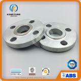 L'acier du carbone de la norme ANSI B16.5 A105/105n a galvanisé la glissade sur la bride avec TUV (KT0601)