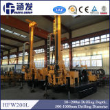 Hfw200L 유압 회전하는 드릴링 기계