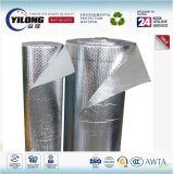 Materiale di isolamento di alluminio riflettente della stagnola della bolla di calore della costruzione