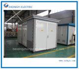 Zbwの屋外のプレハブの分布力の電気サブステーション