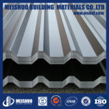 構築の電流を通された鋼鉄波形の金属の屋根