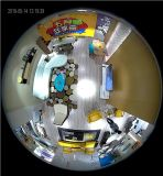 Neue 1.3MP HD Wolke intelligenter IP-Radioapparat mit Fisheye Panorama-Birnen-Kamera