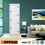 Дверь самомоднейшего плоского деревянного лака панели нутряная (MSPD60)