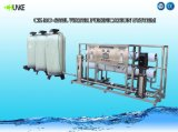 4000lph 역삼투 급수 여과기 시스템 RO 물처리 시스템