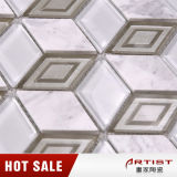 Decoración de interior Blanco Carrara mosaico de piedra
