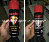 Pintura de aerosol auto del color de la plata del oro de la pintura de aerosol de Areosol de la oferta de la fábrica