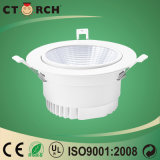 9W LED Downlight 90m m usados para la bombilla del LED abajo
