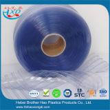 DIY Installations-antistatischer blauer gewellter Plastik-Belüftung-Tür-Vorhang-Streifen Rolls