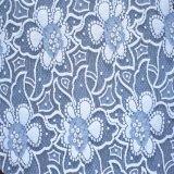 Merletto elastico della tessile di tono di modo due di alta qualità
