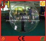 Caminata inflable plástica clara en bola que recorre del agua