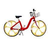 Bicyclette de location de ville avec le vélo urbain d'entraînement d'arbre de loyer d'individu de bâti d'alliage d'aluminium sans chaîne