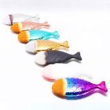 2017 balais cosmétiques de renivellement de types de poissons neufs de base
