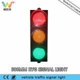 Indicatore luminoso rosso del segnale stradale di verde giallo 300mm del poli carbonato