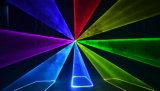 SDのカードが付いているフルカラー8With10W RGBのアニメーションのレーザー光線