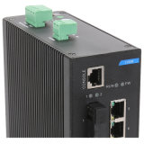 Dinrail interruptor industrial da rede Ethernet da porta de 8 megabits