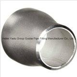 Reductores concéntricos de la autógena del acero inoxidable de las instalaciones de tuberías