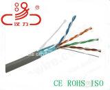 Cavo dell'audio del connettore di cavo di comunicazione di cavo di dati del cavo di Ftpcable LSZH/Computer del cavo della rete