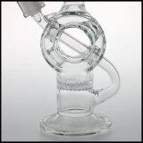 연기가 나는 다이아몬드 유리제 벌집 관 석유 굴착 장치 한덩어리에 의하여 구부려지는 유리제 의장을%s 유리제 수관으로 만드는 Hfy 유리