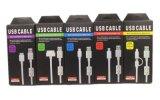 Câble micro de chargeur d'USB isolé par PVC avec la boucle magnétique