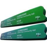 Signaux de signalisation directionnelle en aluminium à l'acrylique en aluminium personnalisé