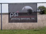 Large Full Color PVC Vinyl Digital Printing Street Sign Mesh Banner
