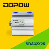 Dopow Sda32-25 조밀한 압축 공기를 넣은 실린더