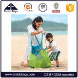 Sacchetto di Tote assente della spiaggia della maglia della sabbia pieghevole di promozione