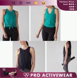 도매 체조 건조한 적합 여자의 소매 없는 셔츠