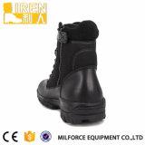 Ботинок классицистической военной полиции кожи коровы высокого качества неподдельной тактический