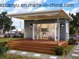 容器の家/地下容器の家/低価格のプレハブの木製家