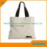Muster-Baumwollsegeltuch-Grifftote-faltbare Einkaufstasche