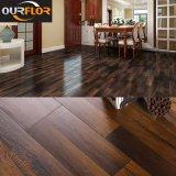Planches imperméables à l'eau de plancher de vinyle de cliquetis de 100% WPC/carrelages neufs de vinyle de PVC (colle libre)