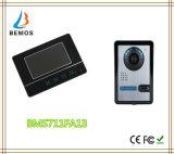 7 монитор внутренной связи 3 телефона двери LCD цвета экрана касания дюйма TFT видео- связанный проволокой дверным звоноком видео-