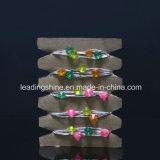 Lumières imperméables à l'eau de chaîne de caractères de forme de diamant pour multi extérieur d'intérieur d'ampoules du câblage cuivre 100 DEL de 33 pi de chambre à coucher colorées