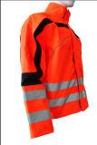 Combinaison orange en nylon de circuit d'habillement de vêtements de travail de tissu de travail de jupe de la qualité 2017 chaude