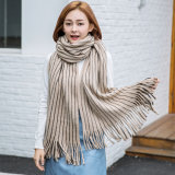Sciarpa del ciclo del cerchio di inverno della sciarpa della signora Fashion Cashmere Like Knitted (SK110)