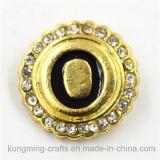 knoop Diamant van de Brief van 21mm de Gouden Gevormde Onverwachte rond voor Armband DIY